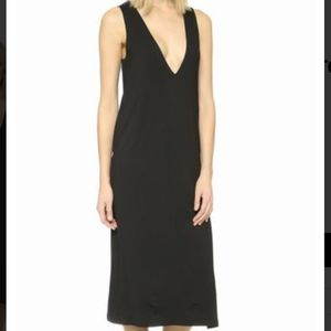 Lna + Extreme V Column Dress SM NWOT